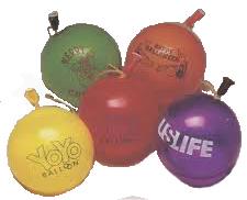 Custom Imprint YoYo Balloons